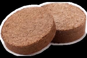 Coco plug pellets